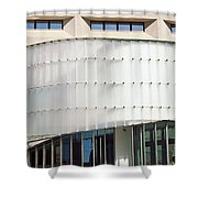 Low Angle View Of A Building, Dr. A. H Shower Curtain
