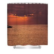 Low Blood Pressure Shower Curtain