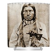 Low Dog Sioux Shower Curtain
