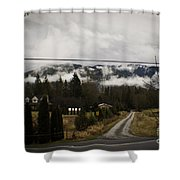 Low Overhead Shower Curtain