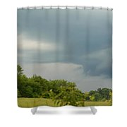 Low Rotating Thunderstorm Shower Curtain