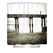 Low Tide Extreme Shower Curtain