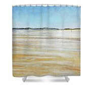Low Tide North Shower Curtain