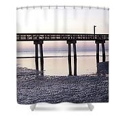 Low Tide Reflected Gp Shower Curtain