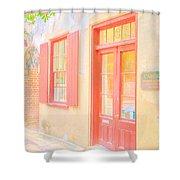 Lowcountry Catfish Row Shower Curtain