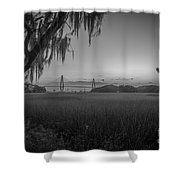 Lowcountry Ghost Shower Curtain