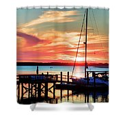 Lowcountry Leisure Shower Curtain