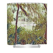 Lowcountry Summer Shower Curtain