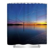 Lowcountry Sunset Shower Curtain