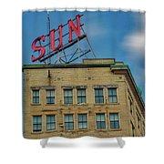 Lowell Sun Sign Shower Curtain