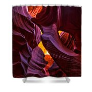 Lower Antelope Lines Shower Curtain