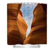Lower Antelope Slot Canyon, Page, Arizona Shower Curtain