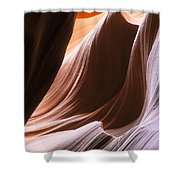 Lower Antelope Slot Canyon Shower Curtain