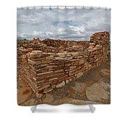 Lower Box Canyon Ruin Shower Curtain