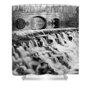 Lower Buckeye Falls Shower Curtain
