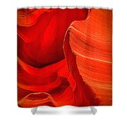 Lower Canyon 21 Shower Curtain
