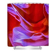 Lower Canyon 22 Shower Curtain