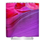 Lower Canyon 31 Shower Curtain