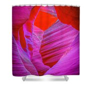 Lower Canyon 39 Shower Curtain