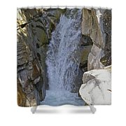 Lower Christine Falls Shower Curtain