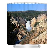 Lower Falls @ Yellowstone National Park Shower Curtain