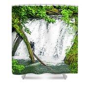Lower Falls 4 Shower Curtain