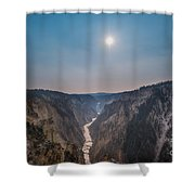 Lower Falls At Artist Point  Shower Curtain