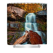 Lower Falls At Kaaterskill Shower Curtain