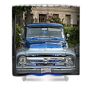 Lower Ford Truck Shower Curtain