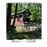 Lower Humbert Bridge Shower Curtain