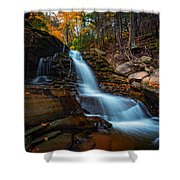 Lower Kaaterskill Falls Shower Curtain