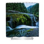 Lower Lewis Falls 1 Shower Curtain