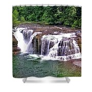 Lower Lewis Falls Shower Curtain