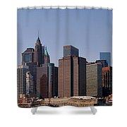 Lower Manhattan Nyc #2 Shower Curtain