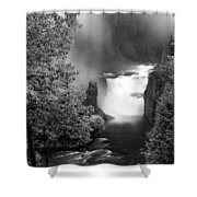 Lower Mesa Falls Shower Curtain
