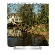 Lower Mill Of Cullompton  Shower Curtain