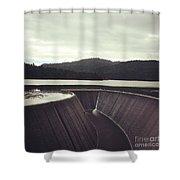 Lower Nihotipu Dam Shower Curtain