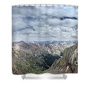 Lower North Eolus From The Catwalk - Chicago Basin - Weminuche Wilderness - Colorado Shower Curtain