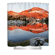 Lower Ottoway Lake Sunset - Yosemite Shower Curtain