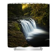 Lower Punchbowl Falls 1 Shower Curtain