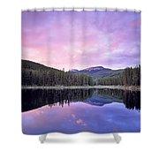 Lower Seymor Lake Shower Curtain