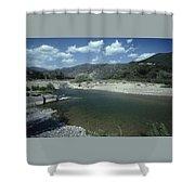 Lower Sisquoc River - San Rafael Wilderness Shower Curtain