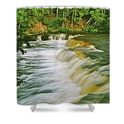 Lower Tahquamenon 6200 Shower Curtain
