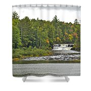 Lower Tahquamenon Falls 4 Shower Curtain