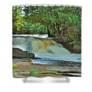 Lower Tahquamenon Falls Shower Curtain