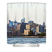 Lower West Side On The Waterfront Shower Curtain