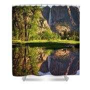 Lower Yosemite Morning Shower Curtain