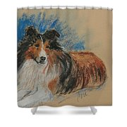 Loyal Companion Shower Curtain