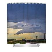 Lp Nebraska Storm Cells 005 Shower Curtain