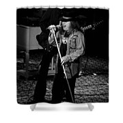 Ls #47 Crop 3 Shower Curtain